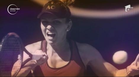 Simona Halep s-a calificat în finala turneului de la Cincinnati