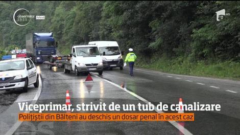 Tragedie în judeţul Olt! Viceprimarul comunei Bălteni a murit, după ce a fost strivit de un tub de canalizare din beton, greu de aproximativ 800 de kilograme!