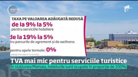 Turismul din România mai primeşte o şansă. Taxa pe valoare adăugată ar putea scădea până la cinci la sută