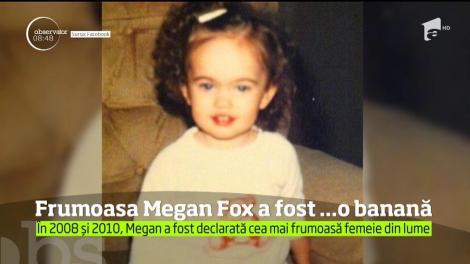 Înainte de a deveni celebră, Megan Fox a purtat costume ciudate ca să atragă clienţi. Mai exact, un costum de banană