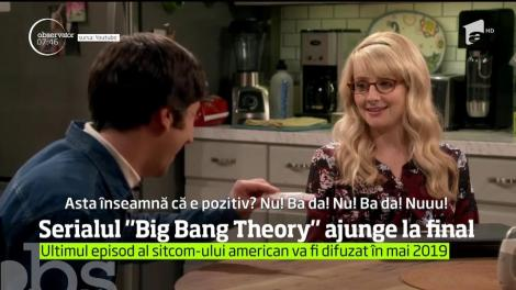 "Serialul ""Big Bang Theory"" ajunge la final"