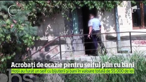 Spargere ca în filme într-un apartament din Drobeta Turnu Severin. 4 hoţi au furat bijuterii şi zece mii de euro