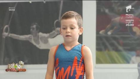 """Marius Urzică, campion la gimnastică masculină, mai fericit ca niciodată! A dezvăluit că fiul mijlociu îi calcă pe urme: """"Alex are calități pentru acest sport!"""""""