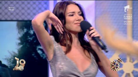 """Otilia cântă, la Neatza, piesa """"Adelante"""""""