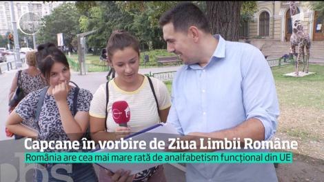 De ziua ei, limba română rămâne un mister pentru 4 din 10 elevi. România are cei mai mulţi analfabeţi din toată Uniunea Europeană