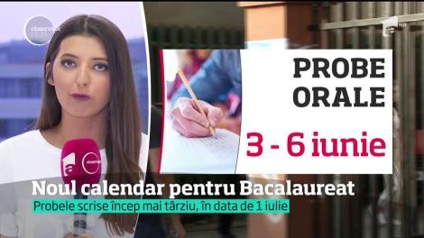 Noul calendar pentru examenul de Bacalaureat vine cu surprize pentru elevi