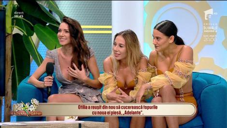 """Otilia a cucerit topurile cu noua ei piesă, """"Adelante"""": """"Am avut foarte multe concerte, în Portugalia și Cipru"""""""