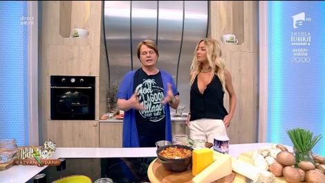 """Vlăduţ, bucătarul de la Neatza, a pregătit """"Clătite glazurate"""""""