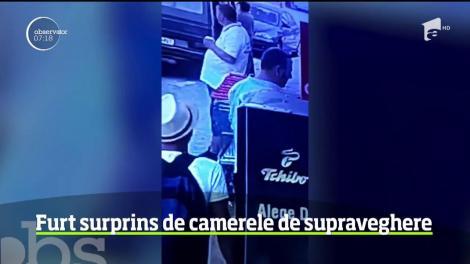 Poliţiştii constănţeni încearcă să dea de urma unui individ care, cu un tupeu incredibil, a intrat într-un magazin din Costineşti şi a furat băutură