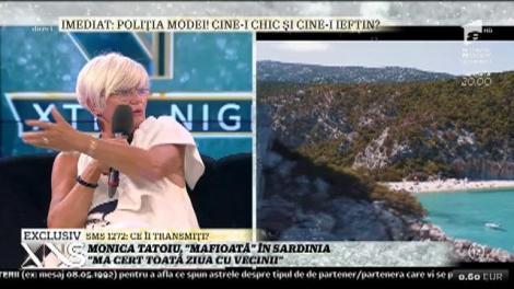 """Monica Tatoiu, vacanță de vis în Sardinia: """"Am închiriat o vilă doar pentru noi"""""""