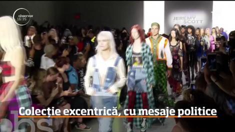 Săptămâna Modei de la New York continuă cu o colecţie excentrică semnată de Jeremy Scott