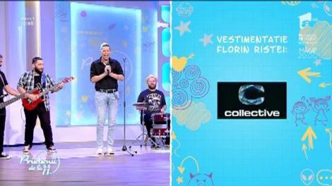 """Tudor Turcu a cântat în premieră piesa """"Vise Colorate"""""""