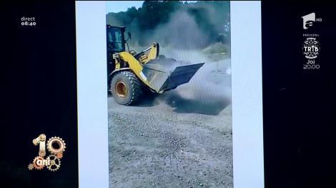 """""""Dorel"""" lovește din nou! Ce farsă uriașă a făcut un muncitor pe șantier (VIDEO)"""