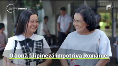 O bonă filipineză a dat România în judecată după ce nu i s-a mai permis să muncească la noi