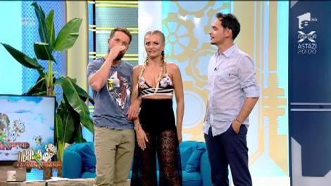 """Răzvan și Dani îi fac instructajul Sylviei: """"În această emisiune vor veni și vedete pe care tu nu le suporți"""""""