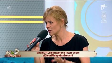 """Sanda Ladoși, despre postul de manager al Circului Metropolitan din București: """"Este un loc în care te dezvolți foarte mult"""""""
