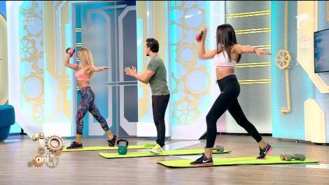 Fitness la Neatza! Antrenament de tip circuit cu greutăți