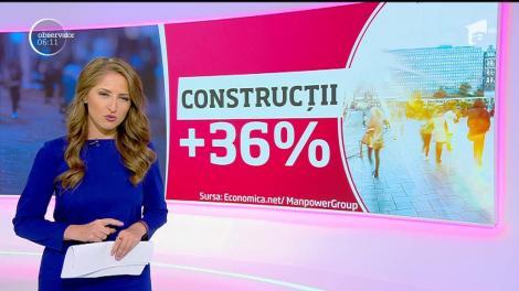 Firmele din România au cele mai optimiste planuri de angajare din Europa