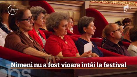Surpriză URIAȘĂ pe scena Ateneului Român, la Concursul George Enescu. Final neașteptat la secţiunea de vioară