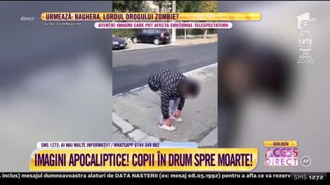 Drogul Zombie! Caseta care îngrozeşte România! Imagini șocante pentru milioane de părinți!
