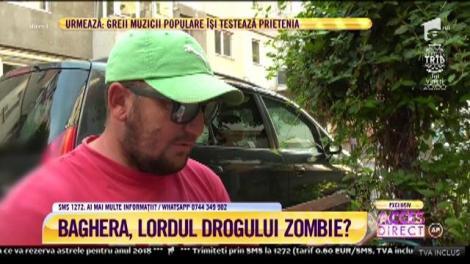 Baghera, bărbatul bănuit că vinde tinerilor drogul Zombie