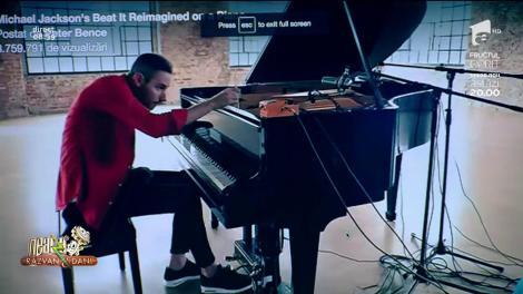 Smiley News! De excepție! O celebră melodie a lui Michael Jackson, cântată la pian