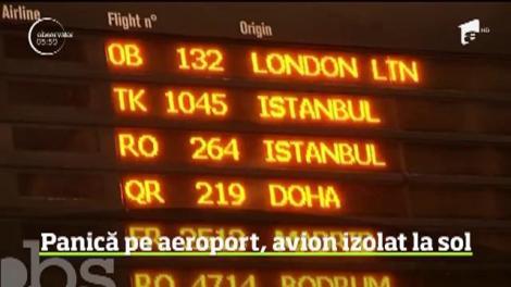Panică pe Aeroportul Henri Coandă, după ce un bărbat suspect de febră tifoidă a fost identificat într-un avion care venea din Turcia