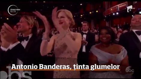 Antonio Banderas a devenit ţinta glumelor pe Internet. Americanii au observat modul inedit al actorului de a aplauda
