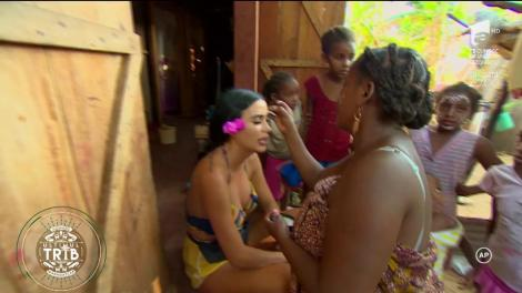 """Daniela Crudu şi Dorian Popa au făcut senzaţie cu vestimenaţia lor jungle! """"Parca eram Tarzan şi Jane!"""""""