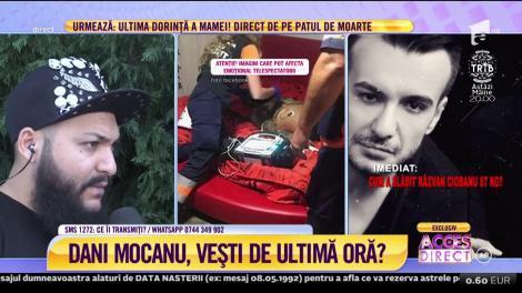 Dani Mocanu şi-a băgat fanii în panică! Controversatul cântăreţ de manele spune ce l-a dărâmat!!
