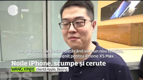 Noile modele de iPhone de la Apple au fost puse la vânzare