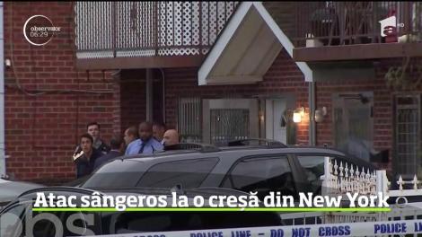 Trei bebeluşi mai mici de o lună şi doi adulţi au fost răniţi într-un atac, deocamdată inexplicabil, într-un cartier al comunităţii chineze din New York