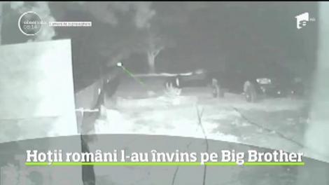 Hoţii români nu se mai tem nici măcar de camerele video de supraveghere