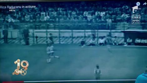 """Din ciclul """"Așa ceva nu există!"""": Rică Răducanu vs. mingea de fotbal """"Nici comentatorul nu se aștepta la asta"""""""