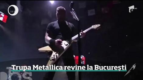 Trupa Metallica revine la București. Când se pun în vânzare biletele