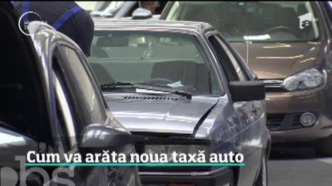 Primele informaţii despre noua taxă auto