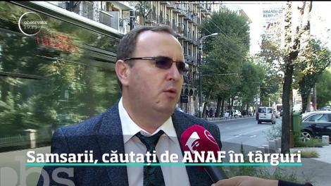 Samsarii, căutați de inspectorii ANAF în  pieţele de maşini second hand