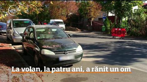 La volan, un copil de patru ani, din Oradea, a rănit un bărbat