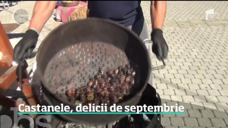 Castanele comestibile au devenit ingredientul principal al unui desert din ce în ce mai apreciat în România