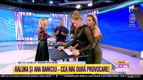 """Raluka a pierdut testul prieteniei! Artista, supusă la o pedeapsă: """"Îmi plac provocările"""""""