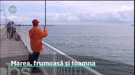 Ultima răbufnire a verii a readus turiştii pe litoral