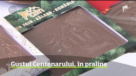 Cel mai patriotic desert - pralinele de ciocolată cu tricolorul românesc