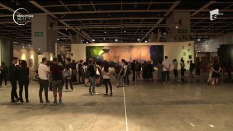 Un tablou abstract, realizat de un pictor chinez, a fost vândut cu un preţ record: 65 de milioane de dolari