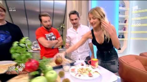 """Micul dejun al lui Răzvan de când a devenit vegetarian. Dani: Doamne, arată ca o poezie... e bun și pentru somalezi"""""""