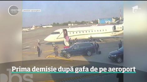 Directorul companiei Aeroporturi Bucureşti, Dan Baciu, a demisionat din funcţie