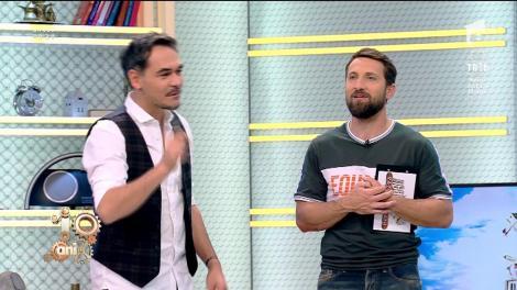 """Răzvan, încrezător că își va bate colegul la tenis de masă: """"Dănuțe, tu din Simona Halep nu ai decât începutul ăla de hernie de disc"""""""