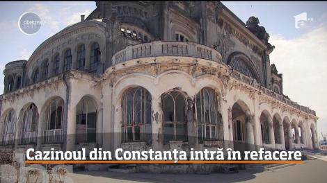 Cazinoul din Constanţa va intra, în sfârşit, în conservare după ani de zile de aşteptare