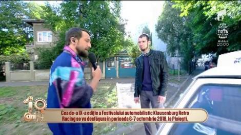 """Festival automobilistic Klausenburg Retro Racing, la Ploiești! Dani: """"Răzvan, dintre noi doi, doar eu aveam Dacie și m-am lăudat cu asta"""""""