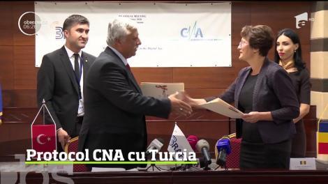 Schimb de experienţă şi bune practici între Consiliul Naţional al Audiovizualului din România şi aceeaşi instituţie din Turcia
