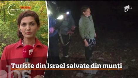 Turiste din Israel salvate din Masivul Piatra Craiului